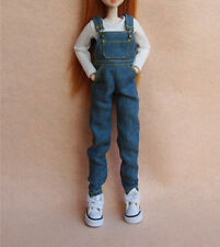 Blythe Doll Outfit Licca Jeans Azone Jeans Pullip Jeans Doll BibFor 1/6 Doll