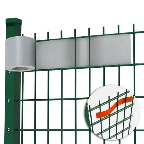 TopPreis 2,99€//m² PVC Sichtschutz Streifen Sichtschutz Doppelstabmatten 7 Farben