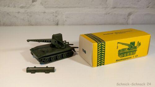 Roskopf 1:100 116 Abschleppanzer T121 USA Gelbe OVP 50//60er Ohne Haken #29462#