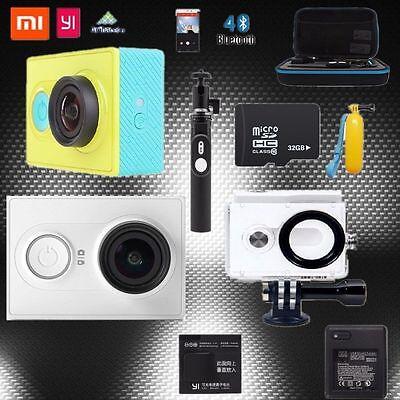 1080P Xiaomi Yi Smart Car DVR WiFi Bluetooth 4.0 Dash 16MP Camcorder Action Cam