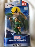 Iron Fist Disney Infinity Marvel Super Heroes 2.0 Figurine Power Disc Spider Man