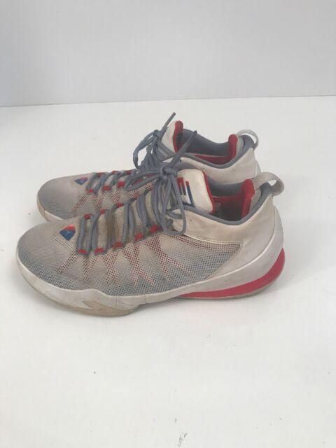 buy online 6357b d846b Nike Air Shoes Jordan 725173-107 CP3.VIII AE Chris Paul Wht/Royal/Red/Blue 9