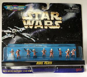 NEW-Star-Wars-Micro-Machines-Rebel-Pilots-Galoob-66076-1996