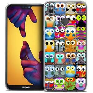 Coque-Crystal-Gel-Pour-Huawei-P20-LITE-5-84-034-Souple-Claude-Hibous