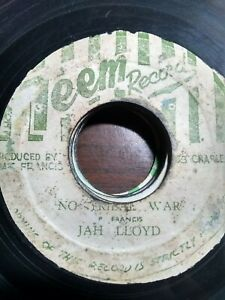 Jah-Lloyd-No-Tribal-War-7-034-Vinyl-Single-1975-ROOTS-REGGAE