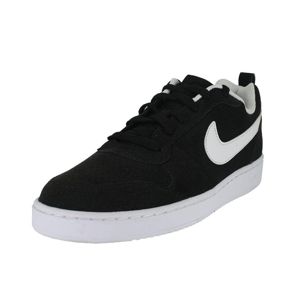Nike Court Borough 010 bajo Negro/Blanco US 838937 010 Borough Tamaños Para f4d05b