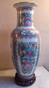 vase chinois ancien famille verte - France - EBay vase chinois ancien famille verte trs bon état ni fle ni ébrechure non peré, le socle est fixé par de la pte modeler 31cm de haut x14cm Merci de détailler les photos, elles indiquent visiblement l'état exact de l'objet. Maison non fume - France