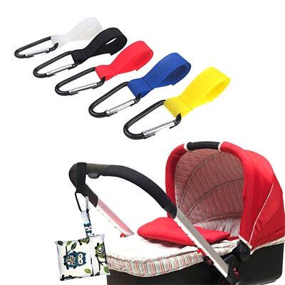 5x Kinderwagen Kinderwagen Einkaufstasche Baby Griff Clip Haken!E 1
