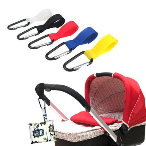 Pram Hook Baby Stroller Hooks Shopping Bag Clip Carrier Pushchair Hanger U nr
