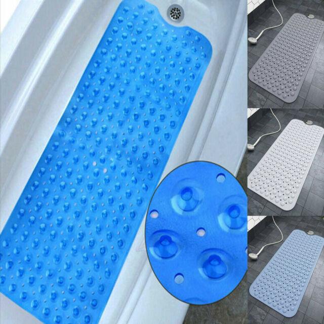 Large Foot Massage Anti Rubber Non Slip Bathroom Bath Shower Mat lskn cute