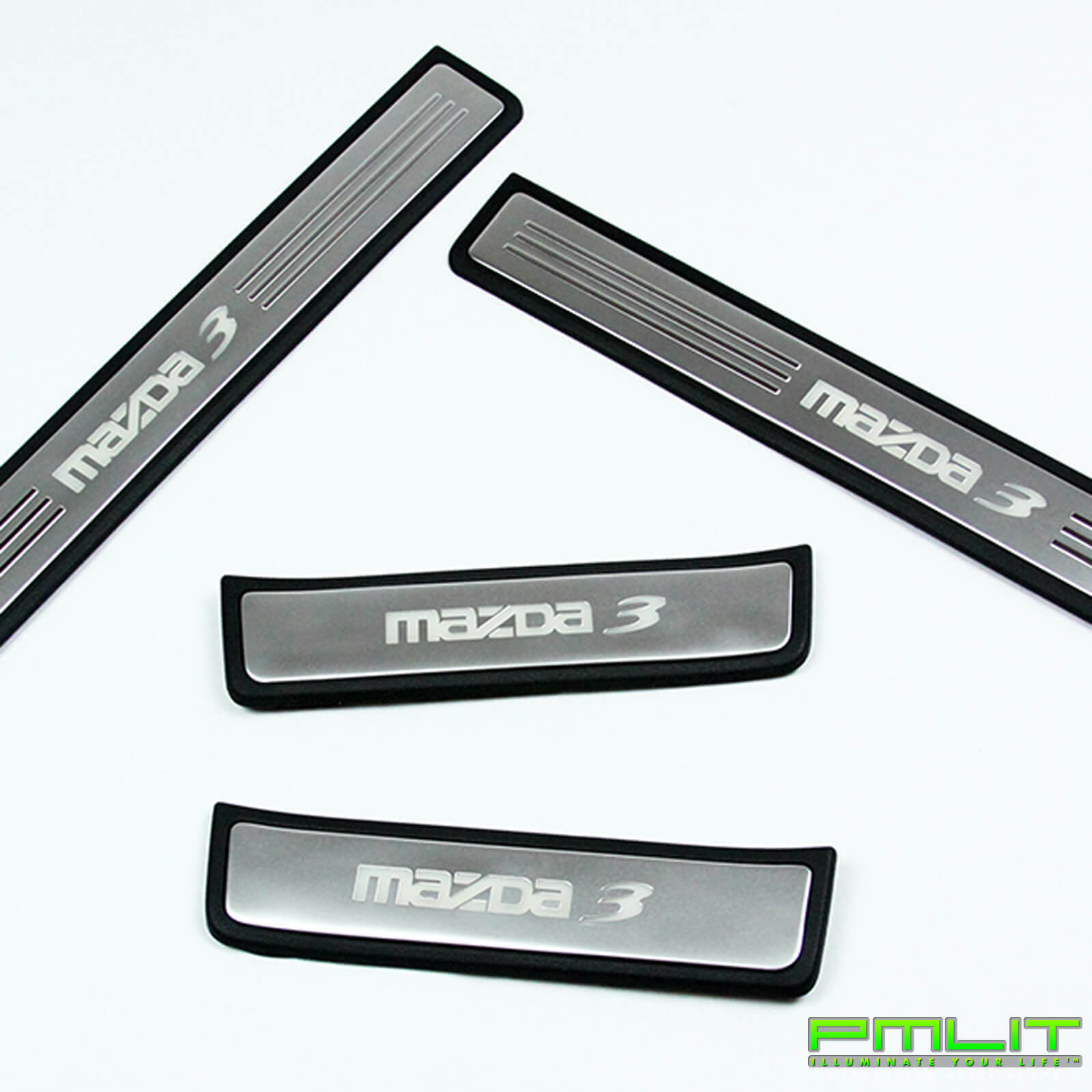 Acura Dealer In Brooklyn: PMLIT LED Blue Illuminated Door Sills Scuff Plates For 04