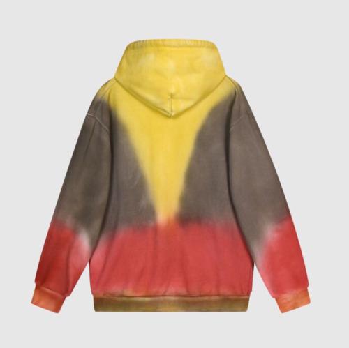 CAP Sorayama Print Tie Dye Hoodie NEW  HIGH QUALIT