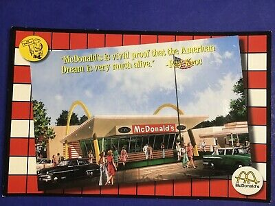 McDonald/'s Restaurant Large Photo 11X14 1950/'s Des Plaines Illinois Speedee Kroc