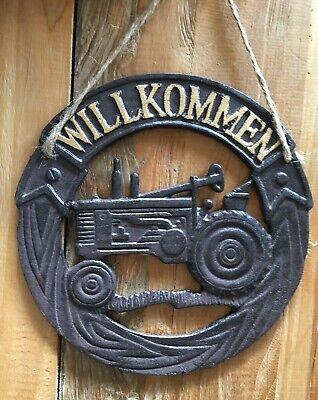 Schild Name Namensschild Trecker Landwirt Türschild « TRAKTOR » Schiefer pers