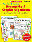 Reading Response Bookmarks & Graphic Organizers  : Reproducible Learning Tools That Prompt Students to Reflect on Text During and After Reading to Maximize Comprehension by Kim Blaise (Paperback / softback)