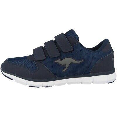Effizient Kangaroos K-bluerun 701 B Sneaker Schuhe Turnschuhe Dark Navy Grey 7643a-423 Extrem Effizient In Der WäRmeerhaltung