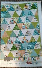Bungle Jungle quilt pattern project sheet by Tim Beck for Moda Fabrics