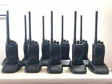 10 Radios Kenwood TK-2302 VHF 136 -174 Mhz Two way - 5 Watt - 16 Channels