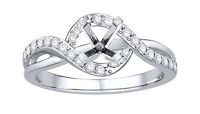 0.60ct Diamond 14k White Gold New Design Engagement Ring