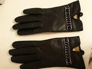 Damen-accessoires Kleidung & Accessoires Gr 7*von Dents Established 777*neu* Zu Verkaufen Trendmarkierung Lederhandschuhe Damen,schwarz