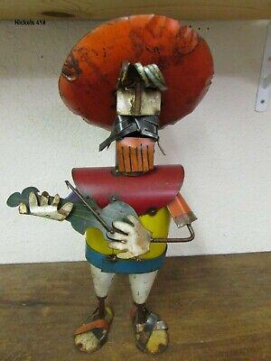Recycled Metal Mariachi #10-Musician-Mexican Folk Art ...