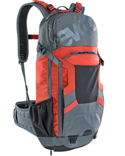 Evoc FR Enduro Carbon Grey//Chili Red M//L 16L Protector Hydration Pack