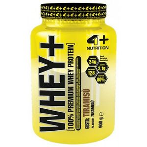 4-PLUS-Nutrition-WHEY-gusto-Tiramis-900gr-Proteine-concentrate