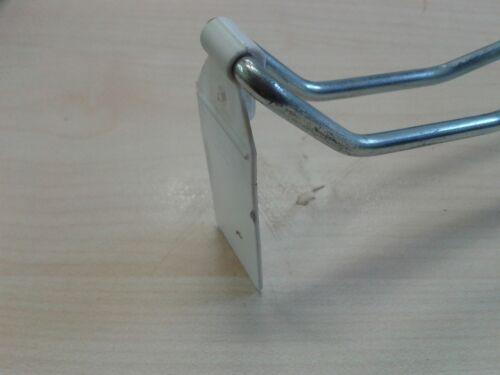 Lochwand Rundlochung SB Doppel Klapphaken mit Klappverschluss Lochwandhaken