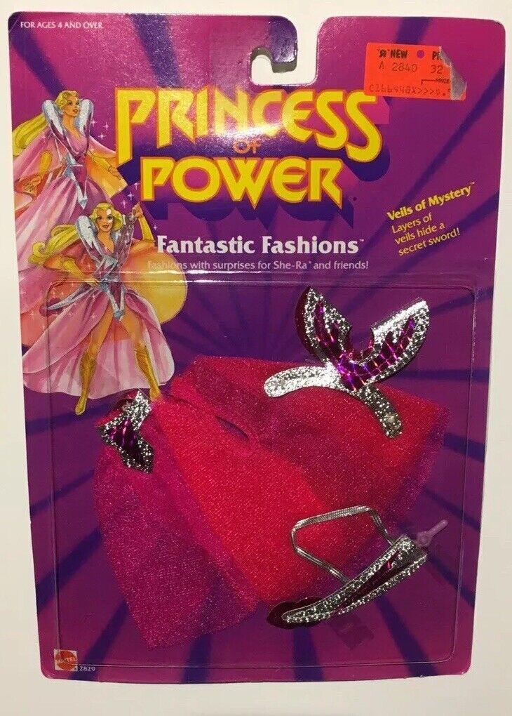 1985 Vintage She-ra Princess of Power Fantastic Fashions Veils of Mystery Shera