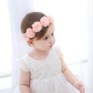 Flower-Headband-Kid-Baby-Girl-Hair-Accessories-Hair-Band-Handmade-Headwear-BM