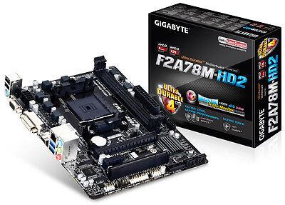 Gigabyte GA-F2A78M-HD2 AMD FM2 + mATX Motherboard SATA 3, HDMI, DVI and VGA