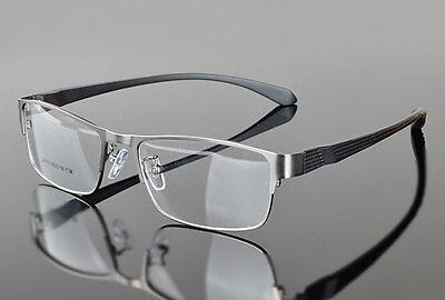 New Designer Men Metal Full Rim Rx Prescription Lens Glasses Eyeglasses Frames