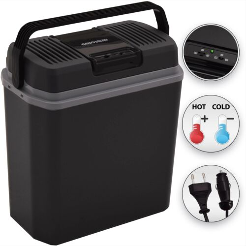 ++ Syntrox 24 Litre Thermoelectric Cooling and wärmebox Camping Car 12+220V a