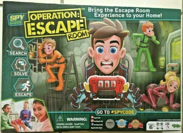 Operation Escape Room Game Spy Code Yulu 2018 Yl042 For Sale Online Ebay