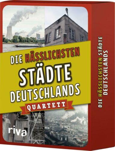 QuartettSpielSchachtelDeutsch Die hässlichsten Städte Deutschlands