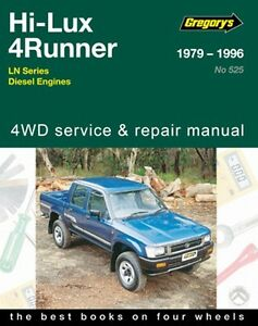 gregorys service repair manual toyota hilux 4runner diesel ln 1979 rh ebay co uk Toyota Hilux Top Gear Toyota Hilux 4x4
