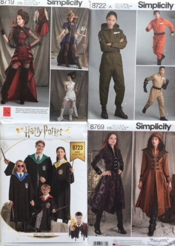 Simplicity Sewing Pattern Costume//Fantasy//Steampunk etc Incl Winter 18