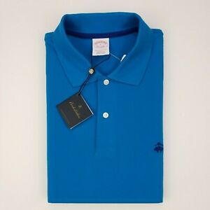 Brooks-Brothers-Large-Blue-Polo-Shirt-New-Nwt-Mens-Size-L-Performance-Original