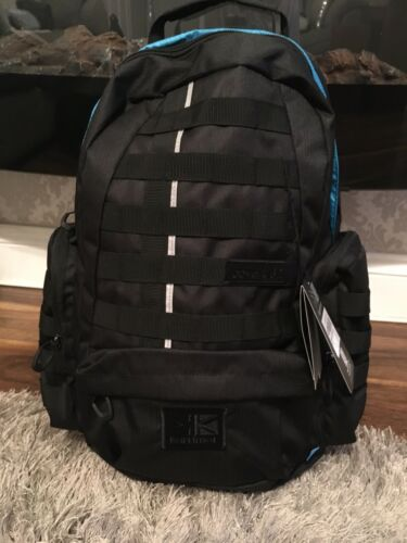 karrimor Covert rucksack Walking Backpack Black With Blue Lining Brand New