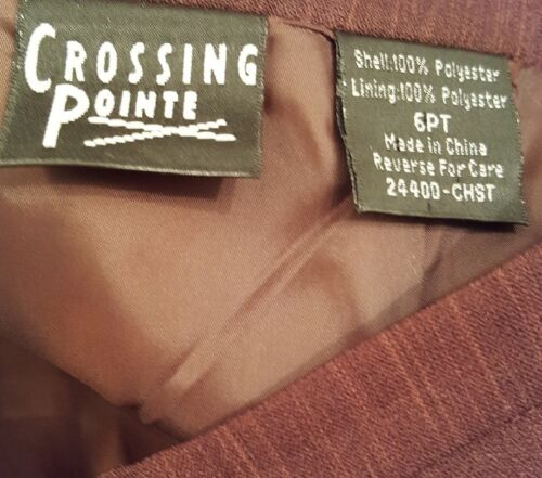 in Pointe Tuta con Crossing Gonna Taglia esecuzione Disegno 6p Stitch Poliestere 5ppqYw