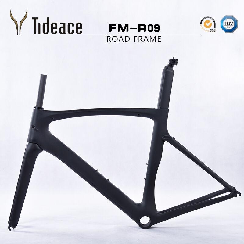 700C Carbon Fiber Road Racing Bike Frames Cadres de vélo de vélo OEM Bicyclette