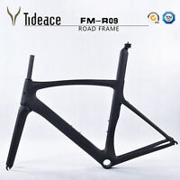 Ud Carbon Matt Cycling Road Bike Frame 58cm Bicycle Framefork + Seatpost + Clamp