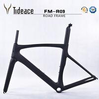 T800 Full Carbon Road Bicycle Frame Carbon Racing Bike Frameset 52cm Fork