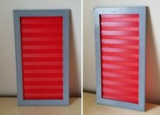"Star Trek inspired corridor Wall Red Alert Panel 11"" Fits above standard door!"