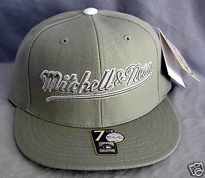 Gut Ausgebildete Big Mitchell&ness Branded Cap Brother Hood Size 7 1/8 Quell Sommer Durst Fanartikel Sport