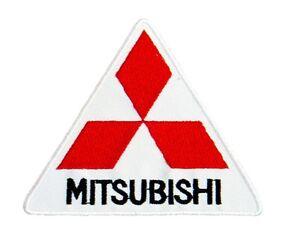 Mitsubishi Dreieck Zum Aufbügeln / Stoffaufnäher (TG)