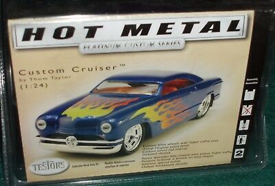 "Gentle Testors ""custom Cruiser"" Assembly Kit 1/24 Diecast Metal Skill Level 2 Sealed Refreshment Diecast & Toy Vehicles Toys & Hobbies"