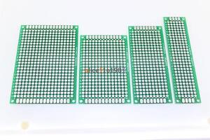 10PCS Double Side Prototype PCB Bread board Tinned Universal FR4 2x8cm - 9x15cm