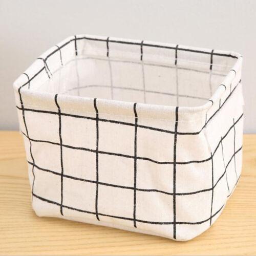 Foldable Laundry Storage Bags Basket Pop Up Clothing Bin Hamper Toys Organizer