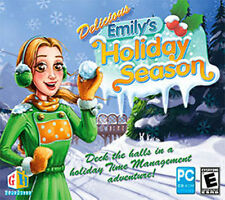 Delicious Emily's Holiday Season   PC Game Win XP Vista 7 8 10  Brand New Sealed